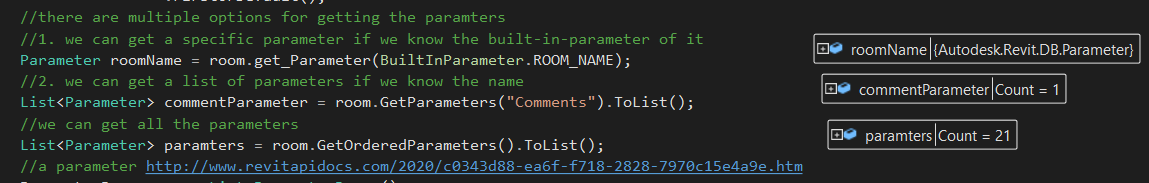Different ways to get a parameter